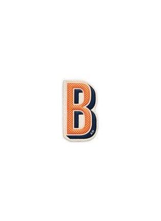 Main View - Click To Enlarge - ANYA HINDMARCH - x Chaos Fashion 'B' alphabet leather sticker