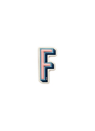 Main View - Click To Enlarge - ANYA HINDMARCH - x Chaos Fashion 'F' alphabet leather sticker