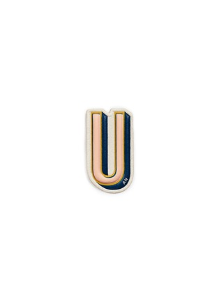 Main View - Click To Enlarge - Anya Hindmarch - x Chaos Fashion 'U' alphabet leather sticker
