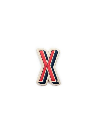 Main View - Click To Enlarge - Anya Hindmarch - x Chaos Fashion 'X' alphabet leather sticker