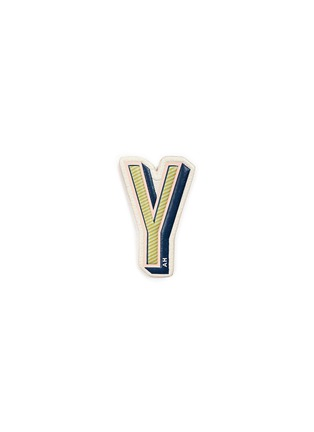 Main View - Click To Enlarge - Anya Hindmarch - x Chaos Fashion 'Y' alphabet leather sticker