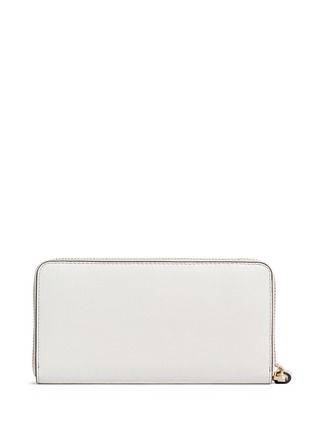Figure View - Click To Enlarge - Anya Hindmarch - 'Space Invaders' embossed leather continental wallet