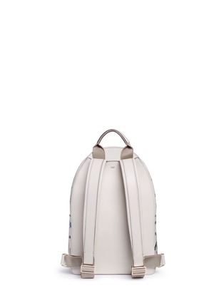 Back View - Click To Enlarge - Anya Hindmarch - 'All Over Sticker' mini embossed leather backpack