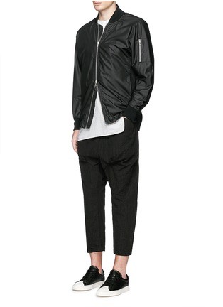 Figure View - Click To Enlarge - ATTACHMENT - 'MA-1' blouson jacket