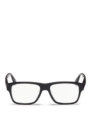 Main View - Click To Enlarge - Prada - Square acetate optical glasses