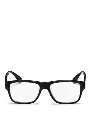 Main View - Click To Enlarge - Prada Accessories - Tortoiseshell acetate square optical glasses