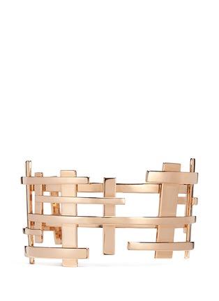 Main View - Click To Enlarge - Dauphin - 18k rose gold openwork lattice cuff