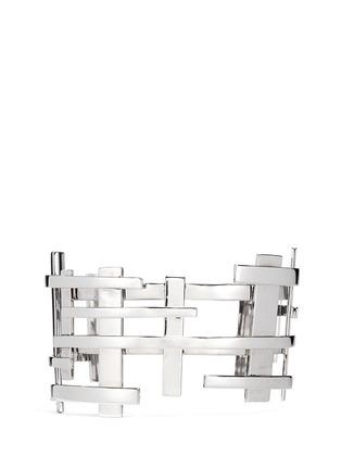 Main View - Click To Enlarge - Dauphin - 18k white gold openwork lattice cuff