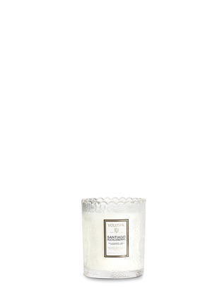 Main View - Click To Enlarge - VOLUSPA - Japonica Santiago Huckleberry scalloped edge scented candle