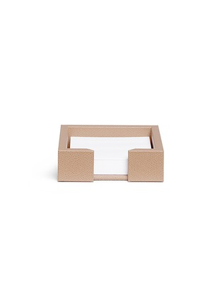 Main View - Click To Enlarge - Pinetti - Liverpool leather paper holder