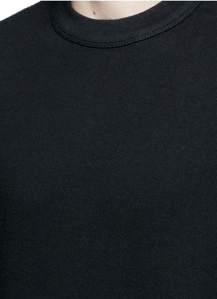 Detail View - Click To Enlarge - T By Alexander Wang - Vintage fleece cotton blend sweatshirt