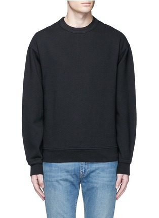 Main View - Click To Enlarge - T By Alexander Wang - Vintage fleece cotton blend sweatshirt