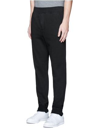 Front View - Click To Enlarge - T By Alexander Wang - Vintage fleece zip fly sweatpants