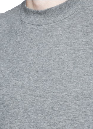 Detail View - Click To Enlarge - ALEXANDERWANG.T - High crew neck cotton jersey T-shirt