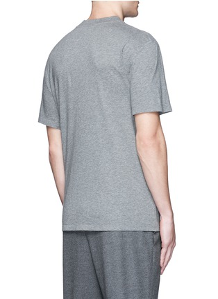 Back View - Click To Enlarge - ALEXANDERWANG.T - High crew neck cotton jersey T-shirt