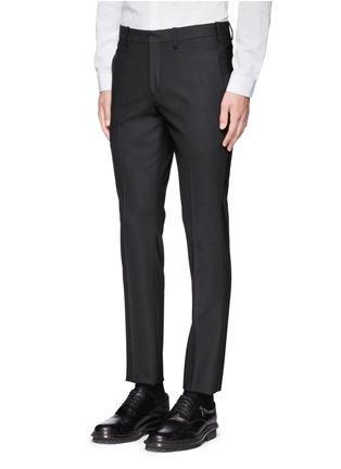 Detail View - Click To Enlarge - Neil Barrett - Slim fit stretch gabardine suit