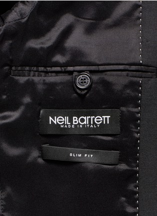 - Neil Barrett - Slim fit stretch gabardine suit