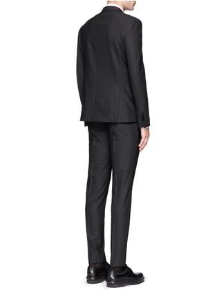 Back View - Click To Enlarge - Neil Barrett - Slim fit stretch gabardine suit