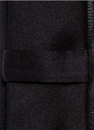 Detail View - Click To Enlarge - Neil Barrett - Eco leather tie