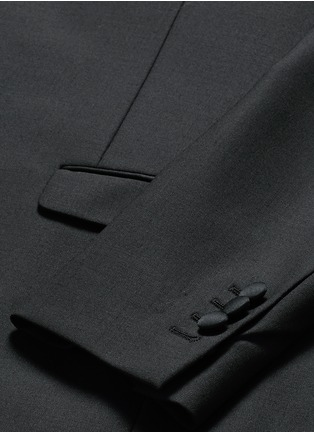 Detail View - Click To Enlarge - Neil Barrett - Satin shawl lapel tuxedo blazer