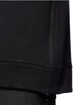 Detail View - Click To Enlarge - Neil Barrett - 'Thunderbolt' print zip side sweatshirt