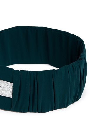 Detail View - Click To Enlarge - NO KA'OI - 'Heihei' foil stripe stretch headband