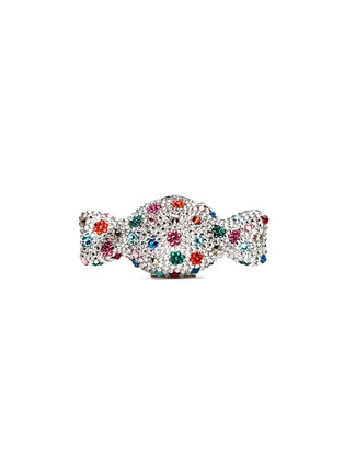 Figure View - Click To Enlarge - JUDITH LEIBER - 'Candy' polka dot crystal pill box