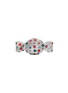 Judith Leiber 'Candy' polka dot crystal pill box