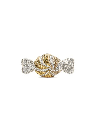 Main View - Click To Enlarge - JUDITH LEIBER - 'Candy' peppermint swirl crystal pill box