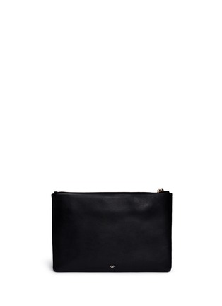 Back View - Click To Enlarge - Anya Hindmarch - 'Georgiana' leather clutch