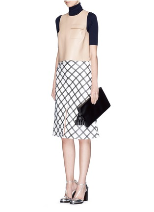 Figure View - Click To Enlarge - Anya Hindmarch - 'Georgiana' leather clutch