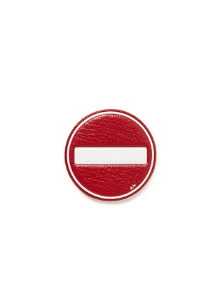Main View - Click To Enlarge - Anya Hindmarch - x Chaos Fashion 'No Entry' leather sticker