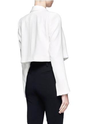 Back View - Click To Enlarge - CHLOÉ - Cropped jacket