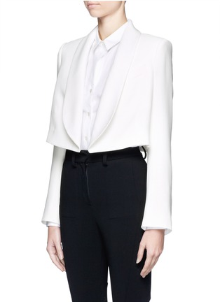 Front View - Click To Enlarge - CHLOÉ - Cropped jacket