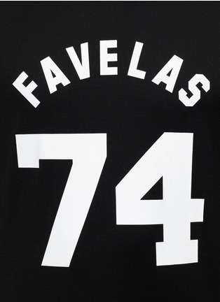 Detail View - Click To Enlarge - GIVENCHY - 'Favelas 74' cotton T-shirt