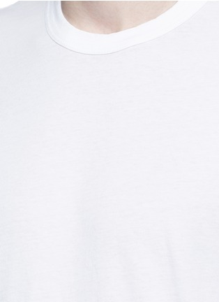 Detail View - Click To Enlarge - James Perse - Crew neck cotton jersey T-shirt