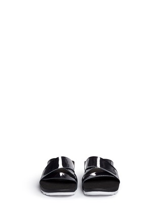 Front View - Click To Enlarge - Nike - 'Taupo' slide sandals