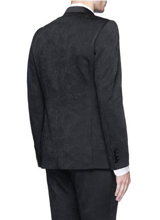 Back View - Click To Enlarge - Dries Van Noten - 'Brosh' jacquard tuxedo blazer