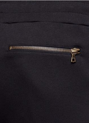 Detail View - Click To Enlarge - Dries Van Noten - 'Hailey' zip cuff jogging pants