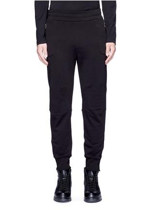 Main View - Click To Enlarge - Dries Van Noten - 'Hailey' zip cuff jogging pants