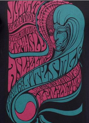 Detail View - Click To Enlarge - Dries Van Noten - 'Hamlet' psychedelic print T-shirt