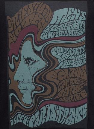 Detail View - Click To Enlarge - Dries Van Noten - 'Howard' psychedelic print sweatshirt