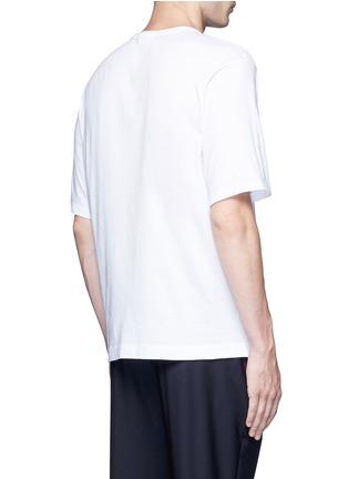 Back View - Click To Enlarge - Dries Van Noten - 'Heaton' oversized psychedelic print T-shirt