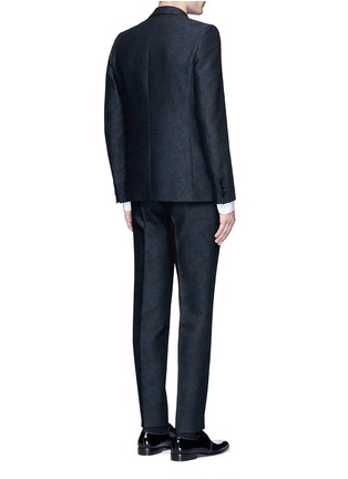 Back View - Click To Enlarge - DRIES VAN NOTEN - 'Kenneth' slim fit jacquard suit