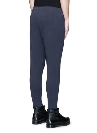 Back View - Click To Enlarge - Dries Van Noten - Button front jersey leggings