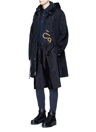 Figure View - Click To Enlarge - Dries Van Noten - Button front jersey leggings