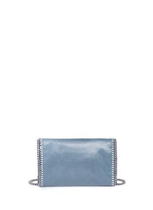 Back View - Click To Enlarge - Stella McCartney - 'Falabella' mini colourblock crossbody chain bag