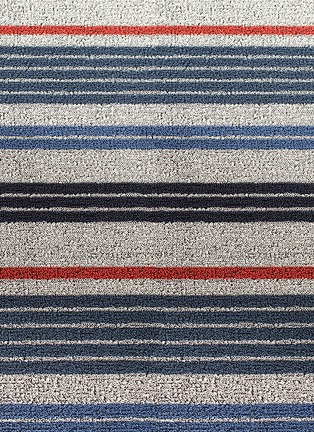 Detail View - Click To Enlarge - Chilewich - Shag mixed stripe door mat