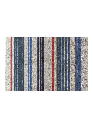 Main View - Click To Enlarge - Chilewich - Shag mixed stripe door mat