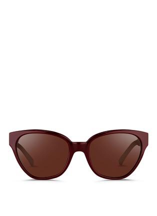 Main View - Click To Enlarge - 3.1 Phillip Lim - Acetate cat eye sunglasses